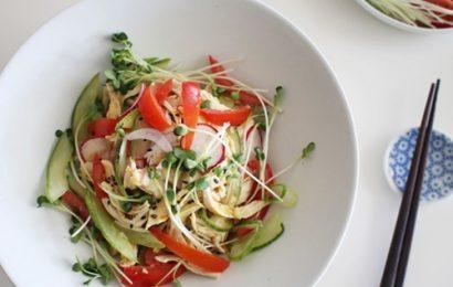 Tự tay chế biến món nộm dưa chuột chua ngọt hấp dẫn tại nhà