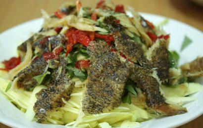 Hướng dẫn cách làm gỏi khô cá lóc mà ai ăn cũng phải nghiện