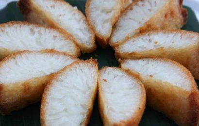 Cách làm bánh bò nướng rễ tre chưa bao giờ dễ dàng đến thế