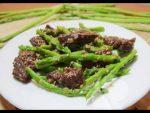 cách làm món măng tây xào thịt bò 1