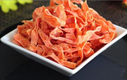 Trổ tài với cách làm mứt dừa màu cà rốt cực kì đơn giản