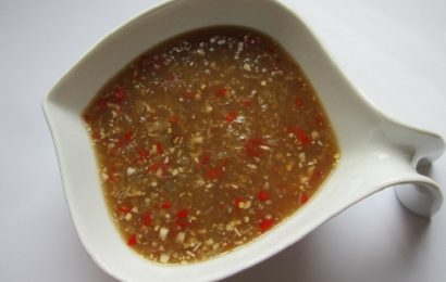 Học thêm cách làm nước chấm bò lá lốt cho món ngon