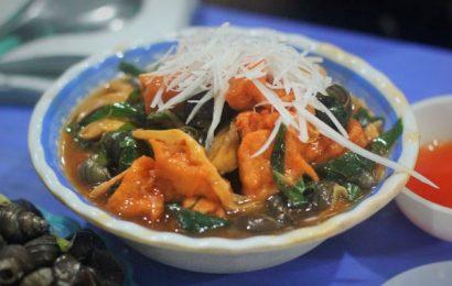 Cách làm ốc xào chuối đậu thập cẩm dừa siêu hấp dẫn
