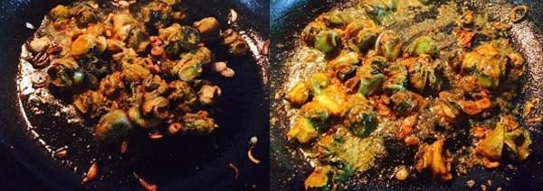 Cách nấu ốc om chuối xanh tuy đơn giản mà ngon không tưởng 7