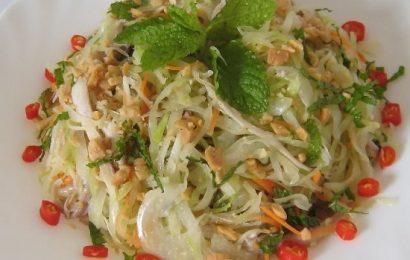 Học cách trộn gỏi bắp cải thơm ngon khiến cả nhà ai cũng mê