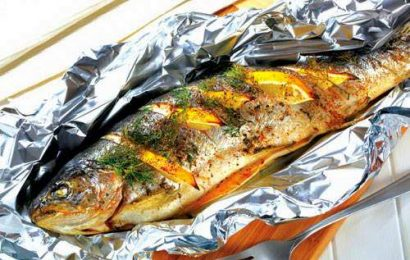 Trổ tài với cách ướp cá nướng giấy bạc siêu độc và cực thơm ngon