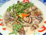 ốc hương xào dừa