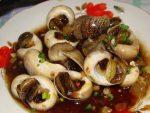 ốc len xào dừa ở Sài Gòn