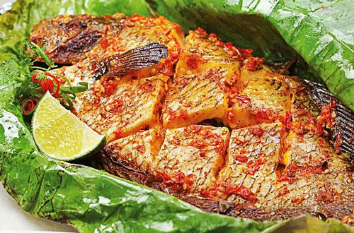 cá nướng tây bắc 1