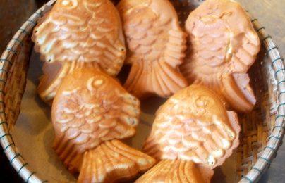 Cách làm bánh cá nướng taiyaki cho trẻ con mê tít