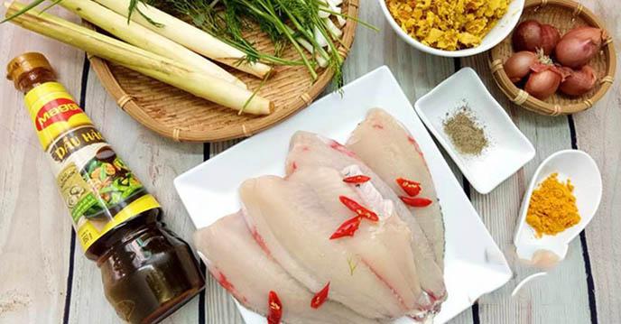 cách làm cá nướng riềng mẻ