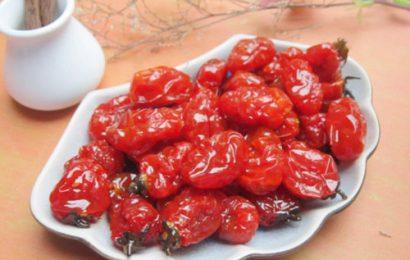 Thực hiện dễ dàng với cách làm mứt cà chua bi khô siêu dễ này