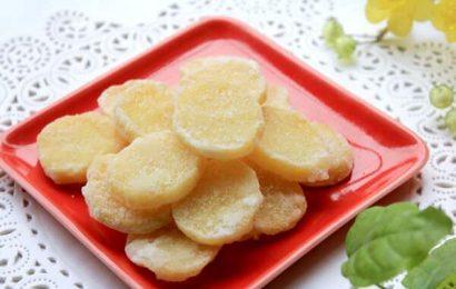 Thử tài một chút với cách làm mứt khoai tây không cần nước vôi trong