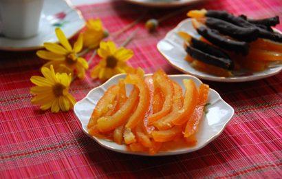 Học thêm cách làm mứt vỏ cam dẻo thơm ngon đặc biệt