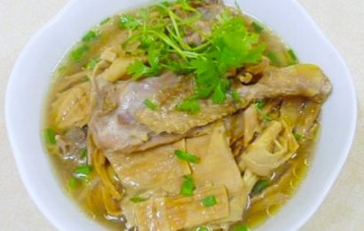 Cách nấu bún măng vịt măng khô dễ nhất tại nhà ngon khó cưỡng