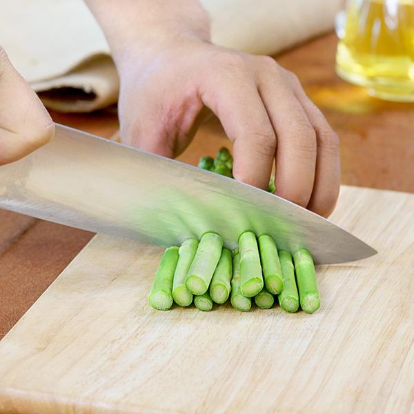 cách sơ chế măng tây