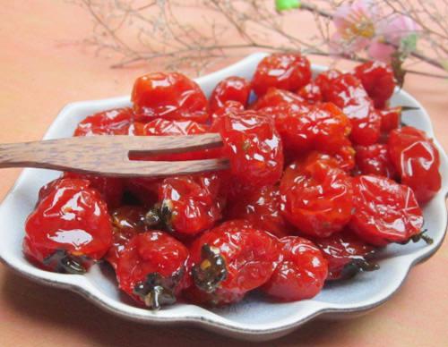 Táy máy với món mứt cà chua bi dẻo thơm ngon giàu dinh dưỡng 1