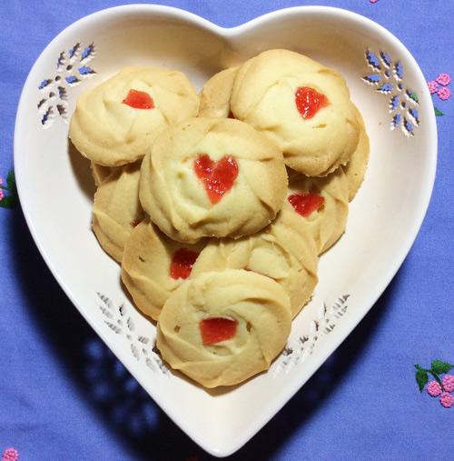 Cách làm bánh quy mứt dâu đơn giản mà lại thơm ngon mê ly