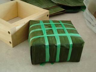 Cách gói bánh chưng bằng lá chuối đơn giản