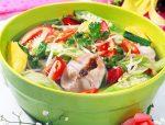 cách muối măng chua nấu cá