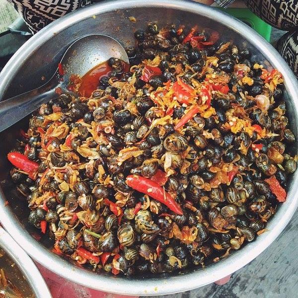 cách nấu ốc gạo ngon