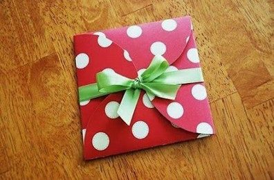 Học cách làm phong bì đựng thiệp cực xinh xắn và đáng yêu