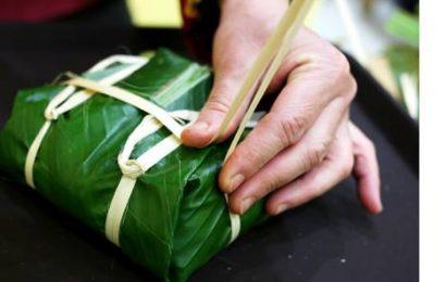 Cách gói bánh chưng nhỏ bằng lá dong ngày tết ngon mà dễ làm
