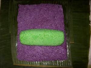 cách làm bánh tét nhân ngọt 3