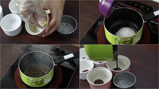 cách làm kem flan bằng sữa đặc 1