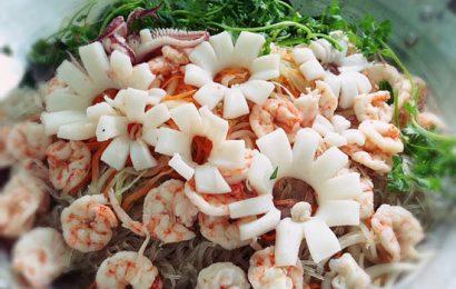 Cách làm miến trộn Thái Lan đơn giản hấp dẫn tại nhà