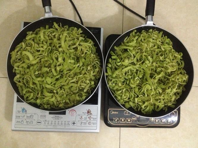cách làm mứt dừa vị trà xanh