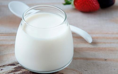 cách làm kem sữa chua từ bột nguyên kem 4