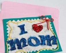 Làm thiệp mùng 8/3 tặng mẹ chưa bao giờ dễ dàng đến thế