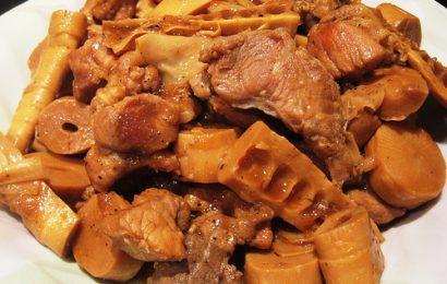 cách nấu măng khô kho thịt ngon đơn giản dễ làm tại nhà