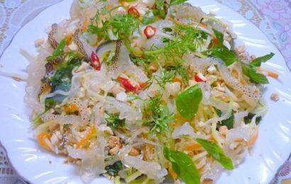 Trổ tài nấu ăn với cách trộn nộm sứa thơm ngon nhất