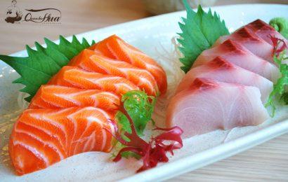 Cùng giải đáp câu hỏi gỏi cá hồi ăn với rau gì thì ngon?
