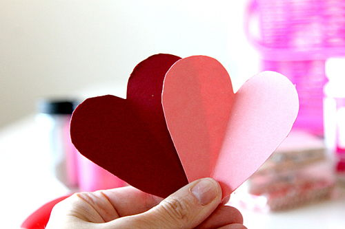 làm thiệp trái tim