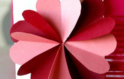 Làm thiệp trái tim tặng mẹ nhân ngày 8/3 thật ý nghĩa