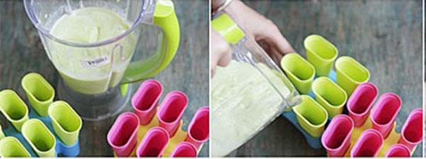 cách làm kem bơ sữa tươi 3
