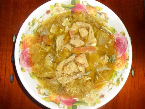 Hướng dẫn cách chế biến món cá bông lau nấu măng chua
