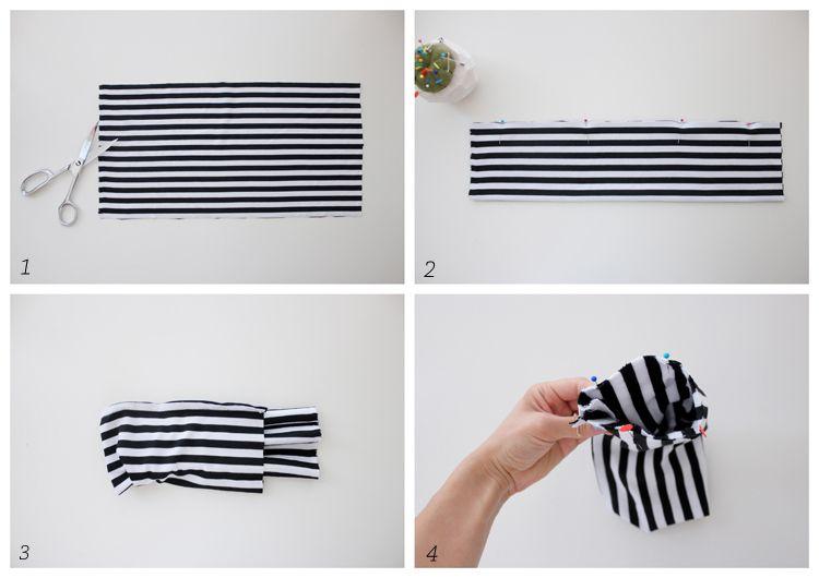 cách làm băng đô handmade