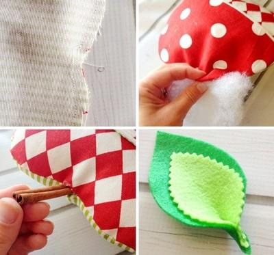 Cách làm gối handmade