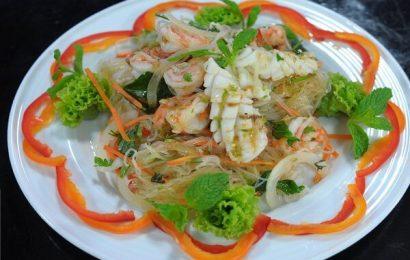 Hé lộ cách làm gỏi miến hải sản siêu ngon và bổ dưỡng