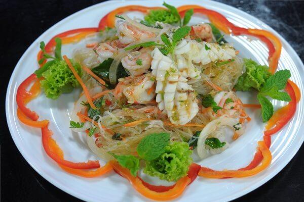 cách làm gỏi miến hải sản 3
