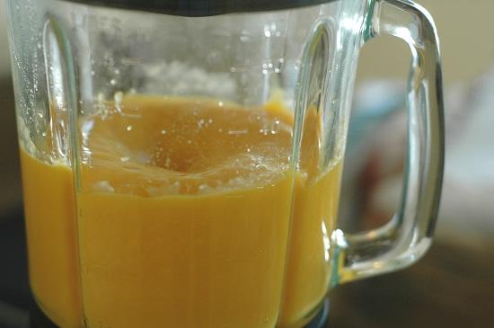 cách làm kem xoài sữa chua 2