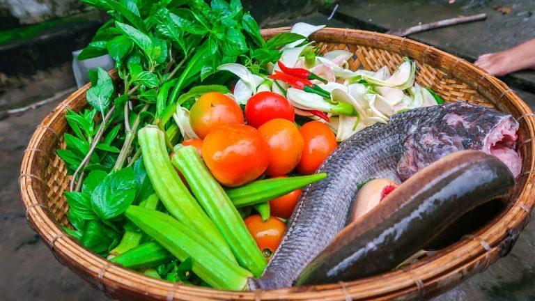 cách nấu lẩu cá lóc măng chua