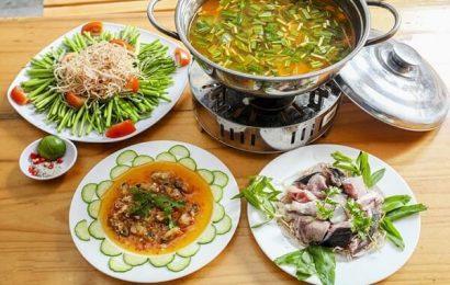 Học cách nấu lẩu cá măng chua ngon không kém gì ngoài hàng