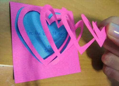 Cách làm thiệp pop up trái tim tặng người ấy nhân ngày 8/3 thật ý nghĩa