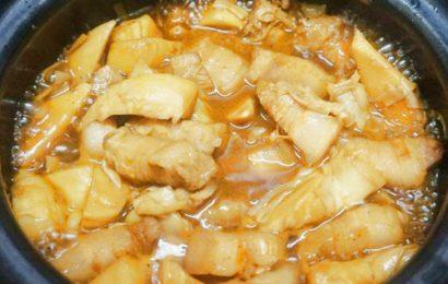 Cuối tuần vào bếp với món thịt kho măng chua đậm đà hương vị