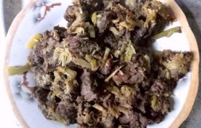Chia sẻ cách chế biến thịt trâu khô xào măng chua ngon tuyệt vời